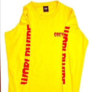 ⚡️long sleeve obey t-shirt⚡️